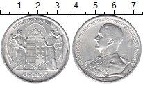 Изображение Монеты Венгрия 5 пенго 1939 Серебро XF-