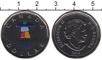 Изображение Монеты Канада 1 доллар 2010 Серебро UNC