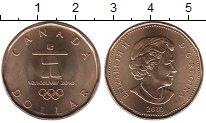 Изображение Монеты Канада 1 доллар 2010 Латунь UNC
