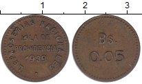 Изображение Монеты Венесуэла 5 сентаво 1939 Латунь XF