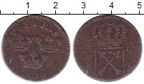 Изображение Монеты Швеция 1 эре 1719 Медь F Ульрика Элеонора !
