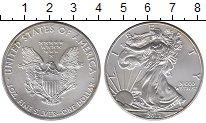 Изображение Монеты США 1 доллар 2012 Серебро UNC- Шагающая  Свобода