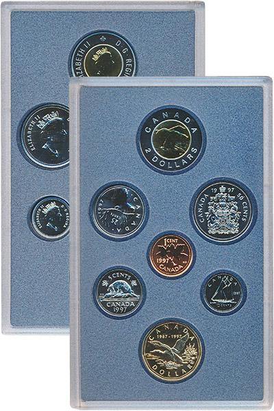Изображение Подарочные наборы Канада Набор 1997 года 1997  BUNC