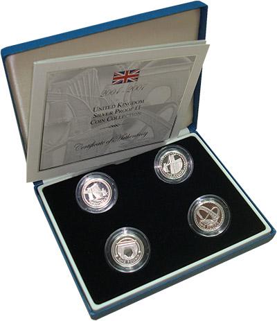 Изображение Подарочные наборы Великобритания Мосты Британии 0 Серебро Proof