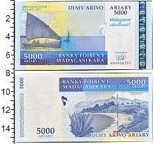 Изображение Банкноты Мадагаскар 5000 ариари 2008  UNC