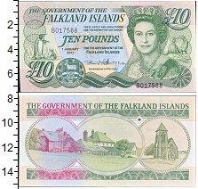 Изображение Боны Фолклендские острова 10 фунтов 2011  UNC