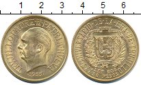 Изображение Монеты Доминиканская республика 30 песо 1955 Золото UNC-
