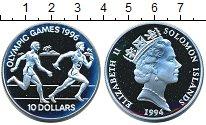 Изображение Монеты Соломоновы острова 10 долларов 1994 Серебро Proof