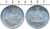 Изображение Монеты Мальта 2 фунта 1972 Серебро UNC крепость