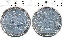 Изображение Монеты Мексика 1 песо 1910 Серебро XF