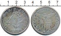 Изображение Монеты Филиппины 1 песо 1909 Серебро XF-