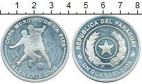 Изображение Монеты Парагвай 1 гуарани 2003 Серебро Proof-
