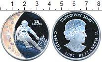 Изображение Монеты Канада 25 долларов 2007 Серебро Proof- Елизавета II. Олимпи