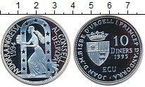 Изображение Монеты Андорра 10 динерс 1995 Серебро Proof