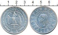 Изображение Монеты Италия 1 лира 2000 Серебро UNC-