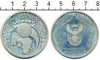 Изображение Монеты ЮАР 2 ранда 2005 Серебро Proof- Чемпионат мира по фу