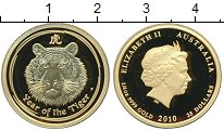 Изображение Монеты Австралия 25 долларов 2010 Золото Proof