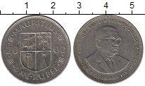 Изображение Дешевые монеты Маврикий 1 рупия 2002 Медно-никель VF