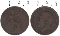 Изображение Барахолка Великобритания 1 пенни 1912 Медь VF-