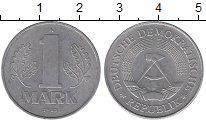 Изображение Дешевые монеты ГДР 1 марка 1982 Алюминий XF А