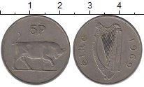 Изображение Барахолка Ирландия 5 пенсов 1969 Медно-никель XF-