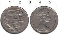 Изображение Барахолка Австралия 20 центов 1981 Медно-никель XF