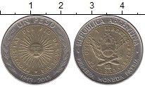 Изображение Дешевые монеты Аргентина 1 песо 2013 Биметалл XF