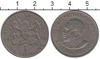 Изображение Дешевые монеты Кения 1 шиллинг 1978 Медно-никель XF-
