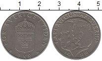 Изображение Дешевые монеты Швеция 1 крона 1988 Медно-никель XF