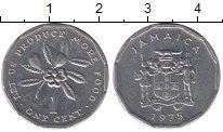 Изображение Барахолка Ямайка 1 цент 1975 Алюминий XF