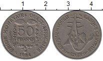 Изображение Барахолка Западно-Африканский Союз 50 франков 1984 Медно-никель XF
