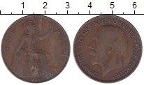 Изображение Дешевые монеты Великобритания 1 пенни 1916 Медь VF- Георг V