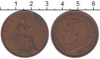 Изображение Дешевые монеты Великобритания 1 пенни 1940 Медь VF