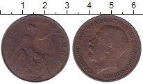 Изображение Дешевые монеты Великобритания 1 пенни 1920 Медь XF-
