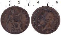 Изображение Дешевые монеты Великобритания 1 пенни 1917 Медь VF