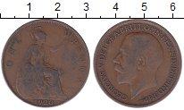 Изображение Дешевые монеты Великобритания 1 пенни 1920 Медь VF