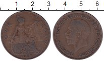 Изображение Дешевые монеты Великобритания 1 пенни 1928 Медь VF