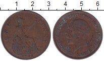 Изображение Дешевые монеты Великобритания 1 пенни 1928 Медь VF-