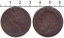 Изображение Дешевые монеты Великобритания 1 пенни 1918 Медь VF-