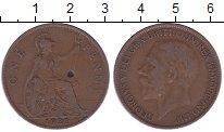Изображение Дешевые монеты Великобритания 1 пенни 1927 Медь VF