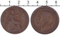 Изображение Дешевые монеты Великобритания 1 пенни 1916 Медь XF-
