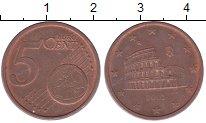 Изображение Барахолка Италия 5 евроцентов 2002 сталь с медным покрытием XF Колизей