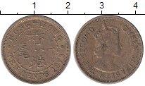 Изображение Барахолка Гонконг 10 центов 1973 Медь VF