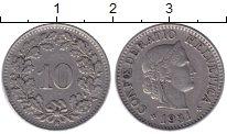 Изображение Дешевые монеты Швейцария 10 рапп 1931 Медно-никель XF