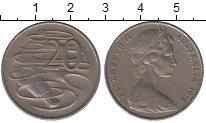 Изображение Дешевые монеты Австралия 20 центов 1978 Медно-никель XF-