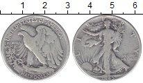 Изображение Монеты США 1/2 доллара 1945 Серебро VF