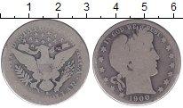 Изображение Монеты США 1/2 доллара 1900 Серебро VF