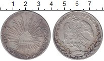 Изображение Монеты Мексика 8 реалов 1876 Серебро XF