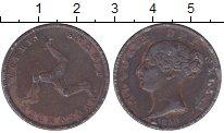 Изображение Монеты Остров Мэн 1/2 пенни 1839 Медь VF
