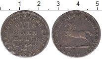 Изображение Монеты Брауншвайг-Вольфенбюттель 1/6 талера 1784 Серебро XF+